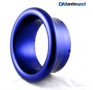 "Blue Anodised Billet 5"" Turbo Trumpet"